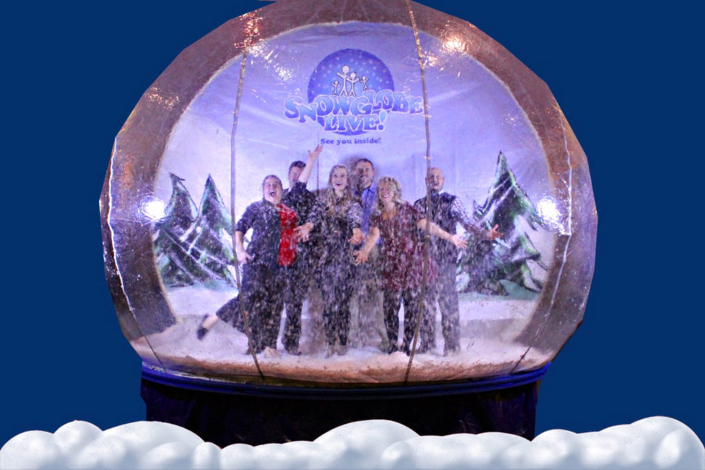green screen photography snowglobe photo